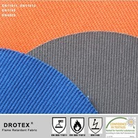 Flame Retardant Fabric Launderable >50cycles Industry Washing ISO 15797