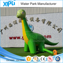 Hot selling inflatable dinosaur model with best quality