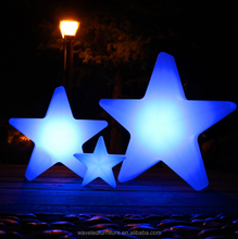 New decorative led flashing star with color change for event ornament