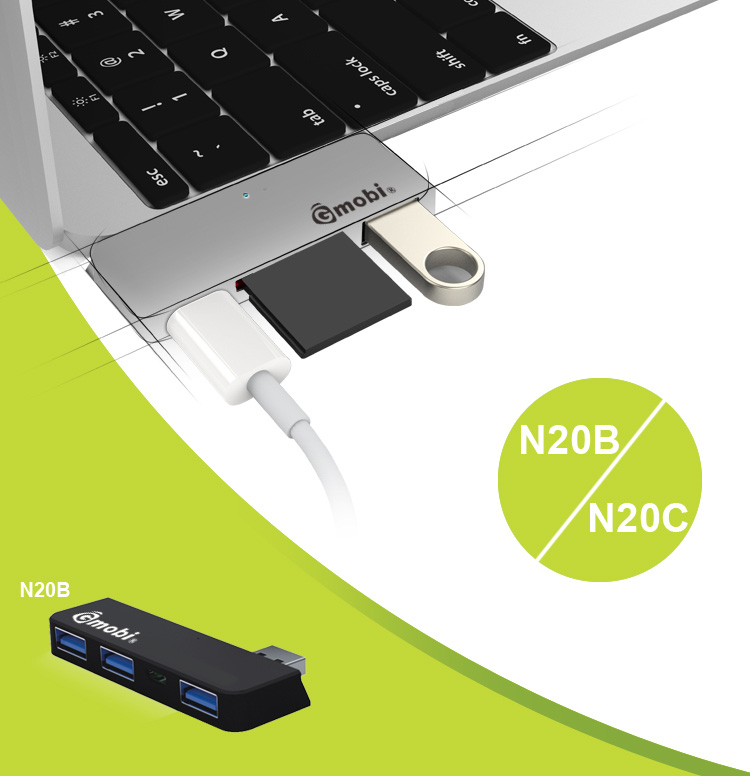 Distinctive Card Reader USB 3.0 Hub CF/MS/SD/SM USB Card Reader Hub For MicroSoft Surface 2/Pro 2