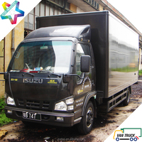 4.3m express delivery truck body 3.5T dry cargo van