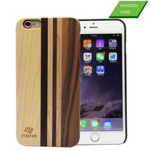 Hot Mobile Phone Accessories Wood Phone Case for iphone6