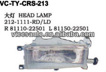 Head Lamp For Toyota Cressida Rx60 Rx62 Rx70 Rx72