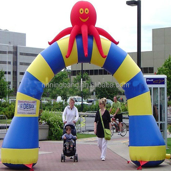 NB-AR1004 inflatable spider arch for advertising