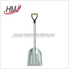 High Quality aluminium long handle snow shovel with discount price