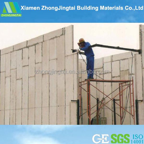 2015 eps concrete prefabricated sandwich panel ready made walls concrete panel wall buy - Readymade wall partitions ...