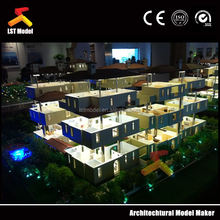 city plan model/building layout for shopping mall center