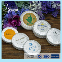 cheap wholesale round disposable hotel small soap for 3-5 star hotel