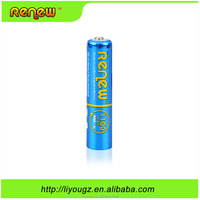 Wholesale!!! Renew brand AAA 1100mAh Green Precharged Ready-to-Use Rechargeable Batteries