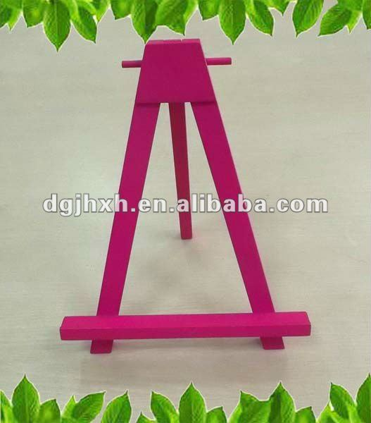 Small Mini Folding Wooden Easels