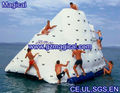 Customise inflatable rock water climbing wall inflatable iceberg