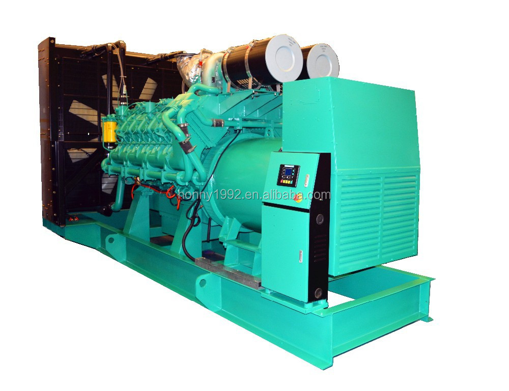 50Hz Googol 1000kW Nature Gas Diesel Double Fuel Generating set