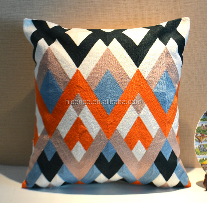 New Knitting Embroidery Home Decor Cushion