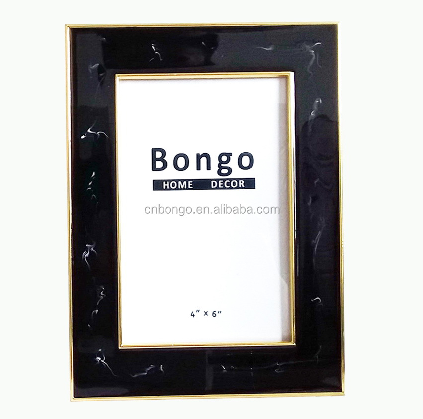 marble enamel pewter picture photo frames