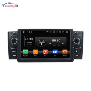 2Din 7inch Android 8.0 Car Multimedia stereo 3g Wifi gps bluetooth DTV dab for Fiat Linea Punto