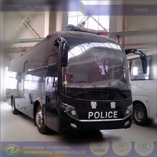 police bus and command coach, luxury special vehicle for public safety