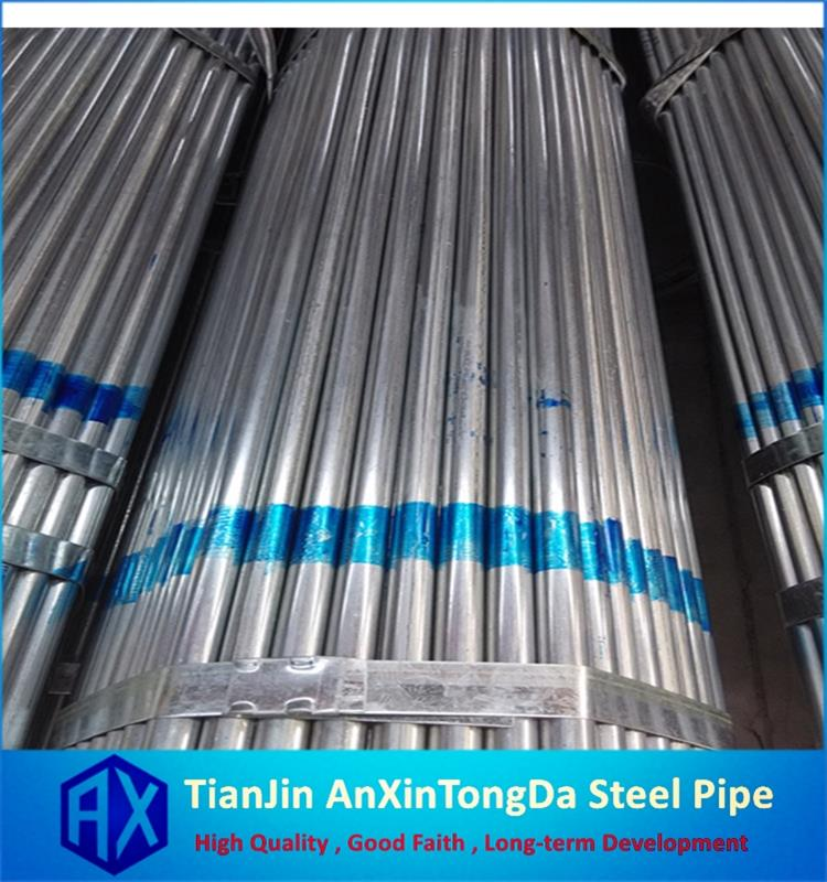 greenhouse galvanized pipe building material st37 galvanized steel pipe