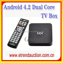 2015 Cheapest AML8726 AML8726 Dual Core Android 4.2 Smart TV Box CS188