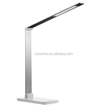 3 level Color Temperature Changeable & touch panel LED desk Lamp with sliding brightness adjustment & 45pcs LEDs,the table lamp