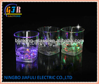 LED Flashing Cup with liquid activated function and switch oo/off