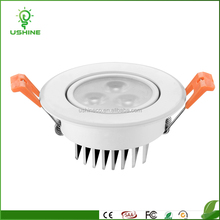 2017 High efficiency commercial down light recessed high quality cob led downlight DL0006