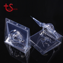 Custom eco friendly transparent diy double clamshell tools pvc display plastic blister pack