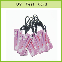 Car Window Protection UV Test Card