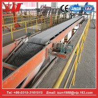 High quality bagged cement china truck loader with rubber belt conveyor in alibaba