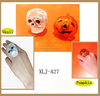 Halloween led flashing pumpkin and skull plastic ring