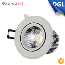 New design chip price led cob downlight 9w 10w 12w 15w recessed adjustable dimmable square/round ceiling led downlight fixture