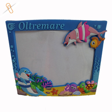 high quality customized rubber cartoon design relief chinese picture frames