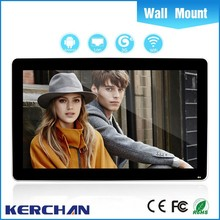 19 inch WIFI LAN 3G Android advertising led display from China factory