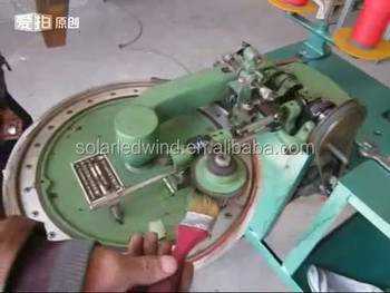 Hand sock toe closeing machine