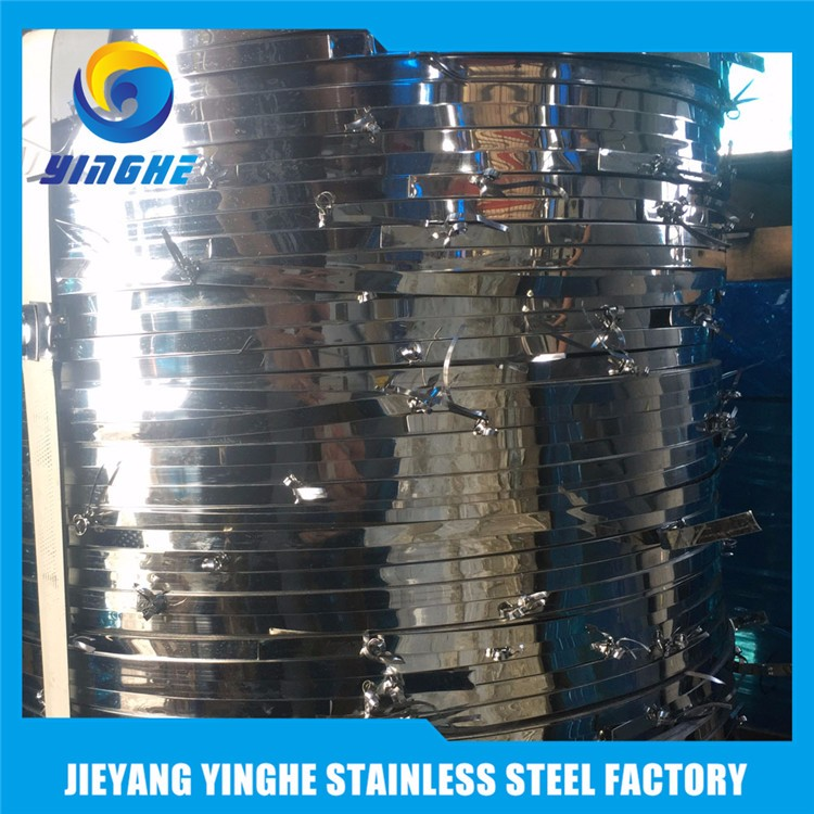 China Top Supplier Banding 2D 6K 430 Stainless Steel Band