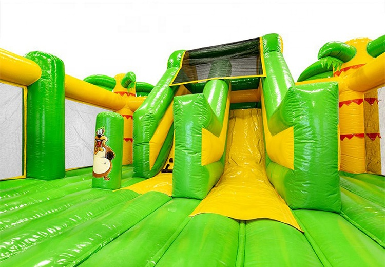 Jungle inflatable bouncer/ inflatable castle/ inflatable bouncy castle for kids