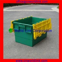 370mm Height With 2 Separated Lid Plastic Crates for Sale
