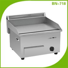 Outdoor cooking euqipment commercial stainless steel flat plate bbq gas grill griddle, panini grill