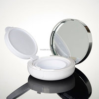 White Cosmetic Packing Box/Powder Compact Case/Solid Perfume Case