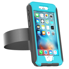 High quality 2017 armband waterproof case transparent back cover phone case cover for iphone for Samsung