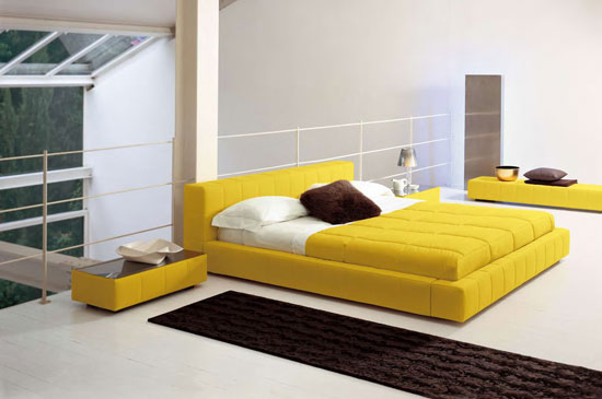 Modern design bed BE-07#