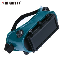 PVC flip-up welding goggle,eye protection