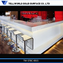 commercial bar counter for sale LED lighted bar table / bench / counter lighted bar counter