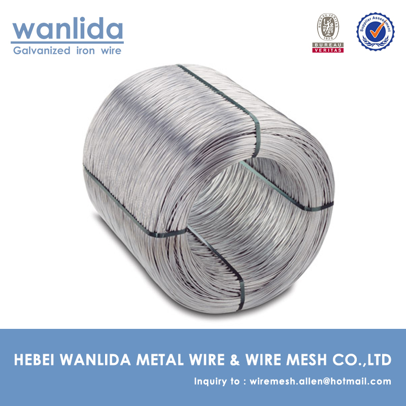 low carbon hot-dipped galvanized wire for sale