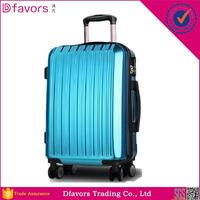 Hot selling fancy hardshell luggage plastic luggage cover 24 inch laminated eva trolley luggage bag with low price