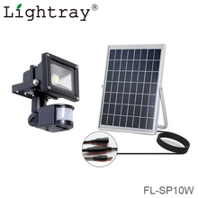 Long Lasting Solar Powered pir motion sensor led flood light with CE ROHS IP65 3Years Warranty