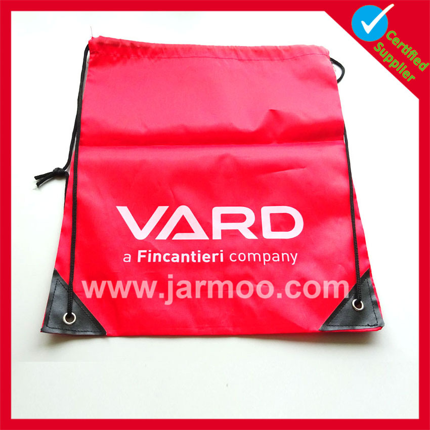 High quality company promotional printed linen bag
