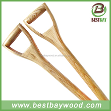 D short shovel handle/wooden hoe handle/wooden handle snow brush
