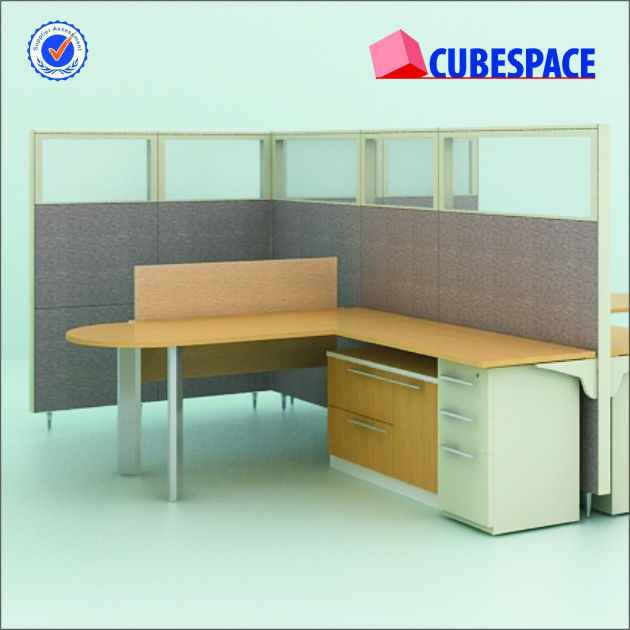 Steel Framed Tiles System, 65mm Thickness Office Partition, Office Furniture Pakistan