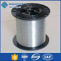 Top selling Hot-dipped galvanized steel wire , flat wire ,2.4/3.0 galvanized flat steel wire