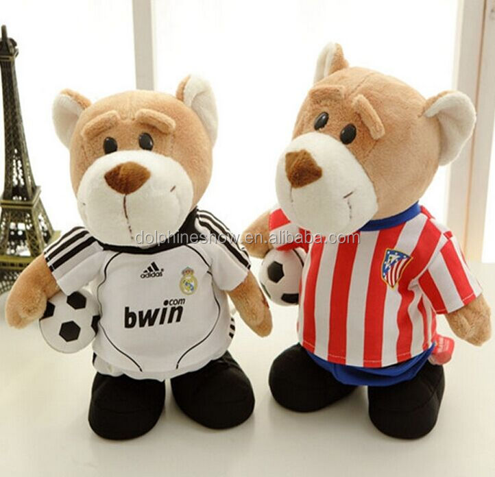 2016 football fan gifts Stuffed Plush Animal football player toys